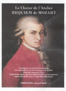Flyer Mozart Requiem